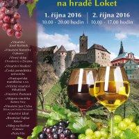 10. ročník Vinobraní na hradě Loket