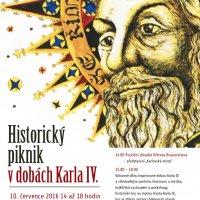 Historický piknik v dobách Karla IV.