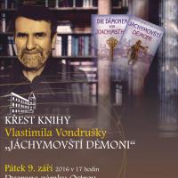 Křest knihy Vlastimila Vondrušky