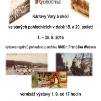 Karlovy Vary a okolí ve starých pohlednicích v době 19. a 20. století