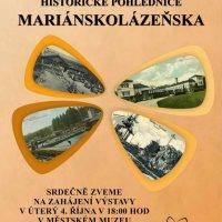 Historické pohlednice Mariánskolázeňska