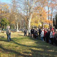 Dušičková hřbitovní exkurze