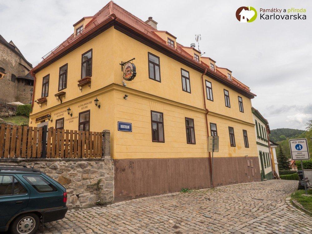 Loket - měšťanský dům čp. 70