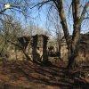Svatobor - fara | jižní stěna bývalé fary se vstupem na terasu u kostela Nanebevzetí Panny Marie - duben 2010