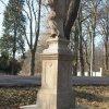Stružná - socha sv. Jana Nepomuckého | zadní strana restaurované plastiky - březen 2020