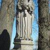 Semtěš - socha Panny Marie | vrcholová plastika Panny Marie - duben 2016