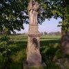 Semtěš - socha Panny Marie | zchátralá socha Panny Marie v Semtěši - květen 2005
