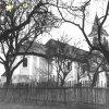 Palič - kostel sv. Anny | severní průčelí zchátralého kostela sv. Anny v Paliči na fotografii z roku 1966