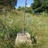 Bražec - Würknerův kříž | přední strana Würknerova kříže - červenec 2015