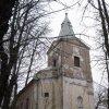 Andělská Hora - kostel sv. Michaela Archanděla | hlavní západní průčelí kostela - listopad 2009