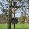 Čichořice - železný kříž | litý železný kříž - duben 2011