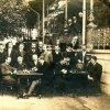 Karlovy Vary - Blanenský pavilon | setkání šachistů u Blanenského pavilonu v roce 1907