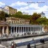 Karlovy Vary - Mlýnská kolonáda | Mlýnská kolonáda na kolorované pohlednici z roku 1926