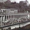 Karlovy Vary - Mlýnská kolonáda | Mlýnská kolonáda na fotografii z počátku 20. století