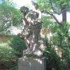 Chyše - socha sv. Šebestiána | socha sv. Šebestiána v Chyších - červen 2012