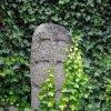 Jeřeň - křížový kámen | reliéf řeckého kříže - červenec 2009