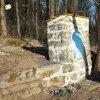 Německý Chloumek - kaplička sv. Jana Nepomuckého | výklenková kaplička sv. Jana Nepomuckého u Německého Chloumku po celkové rekonstrukci - duben 2016