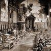 Karlovy Vary - Císařské lázně (Lázně I) | Zanderův sál v Císařských lázních na fotografii z roku 1901