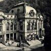 Karlovy Vary - Císařské lázně (Lázně I) | budova Lázní I na historické fotografii z doby po roce 1918
