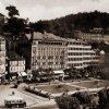 Karlovy Vary - městská spořitelna | městská spořitelna na historické fotografii z roku 1931