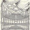 Karlovy Vary - Městské divadlo | hlediště divadla na plánku z roku 1902
