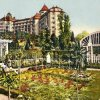 Karlovy Vary - hotel Imperial | hotel Imperial na kolorované pohlednici z roku 1914