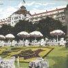 Karlovy Vary - hotel Imperial | hotel Imperial na kolorované pohlednici z roku 1920