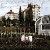 Karlovy Vary - hotel Imperial | hotel Imperial na kolorované pohlednici z roku 1930