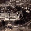Karlovy Vary - hotel Imperial | letecký pohled na hotel Imperial na pohlednici z roku 1930