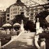 Karlovy Vary - hotel Imperial | zahradní restaurace před hotelem Imperial v roce 1932