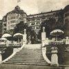 Karlovy Vary - hotel Imperial | průčelí hotelu Imperial na fotografii z doby kolem roku 1932
