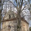 Bochov - kostel sv. Jakuba | kostel sv. Jakuba od jihozápadu - duben 2013