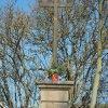 Pšov - Hartlův kříž | přední strana Hartlova kříže - březen 2016