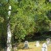 Karlovy Vary - Mozartův park | náhrobky v Mozartově parku - říjen 2011