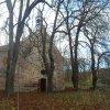 Bukovina - kaple sv. Michaela | zchátralá kaple sv. Michaela od východu - listopad 2014