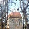 Bukovina - kaple sv. Michaela | jihovýchodní stěna kaple - listopad 2014