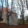 Bukovina - kaple sv. Michaela | kaple sv. Michaela po rekonstrukci od jihu - listopad 2014
