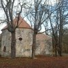 Bukovina - kaple sv. Michaela | zchátralá kaple sv. Michaela v Bukovině - listopad 2014