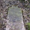 Luka - židovský hřbitov | zachovalý židovský náhrobek - listopad 2009