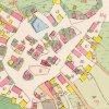 Javorná - kostel sv. Martina | kostel sv. Martina na mapě stabilního katastru z roku 1842