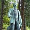 Kyselka - pomník Heinricha Mattoniho | akrylátová replika původní sochy - září 2013