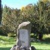Jáchymov - pomník Štěpána Šlika | zchátralý Šlikův pomník v roce 2011