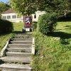 Jáchymov - pomník osvobození | pomník osvobození před královskou mincovnou - říjen 2013
