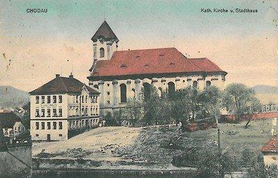 Chodov - kostel sv. Vavřince | Památky a příroda Karlovarska
