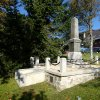 Boží Dar - pomník obětem 1. světové války | pomník obětem 1. světové války na náměstí v Božím Daru po rekonstrukci - říjen 2013