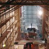 Dobrá Voda - klášter Matky Boží Nový Dvůr | stavba nového moderního železobetonového klášterního kostela Matky Boží v roce 2003