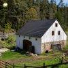 Tisová - Rohrův mlýn | přilehlá stodola po celkové rekonstrukci - květen 2015