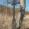 Vladořice - železný kříž | vyspravený litinový kříž - březen 2016