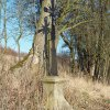 Vladořice - železný kříž | obnovený železný kříž u Vladořic - březen 2016