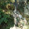 Protivec - železný kříž   nový bohatě zdobený vrcholový litý kříž - červenec 2015